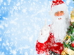 Sfondo: Santa Claus In The Snow