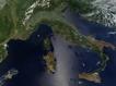 Sfondo: Italia dal salettellite