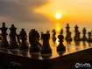Sfondo: Torre scacchi