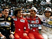 Sfondo: Senna e Prost