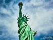 Sfondo: Statua della Libertà