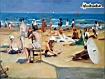 Sfondo: Sulla spiaggia
