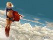Sfondo: Supergirl