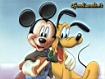 Sfondo: Topolino e Pluto