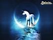 Sfondo: Unicorno bianco