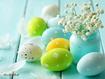 Sfondo: Uova di Pasqua