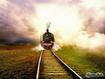 Sfondo: Treno a vapore