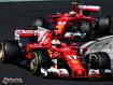 Sfondo: Vettel e Raikkonen 2017