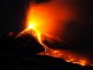 Sfondo: Vulcano Etna