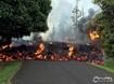 Sfondo: Vulcano Kilauea