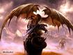 Sfondo: Warrior And Dragon