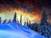 Sfondo: Winter Sunset