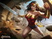 Sfondo: Wonder Woman Fighting