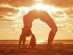 Sfondo: Yoga Posture